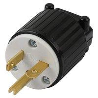 Smart Power Plugs 15PV 15 AMP 120-125 Volt, NEMA 5-15P, 2Pole 3wire, gerade Klinge, männliche Stecker Ersatzkordauslet, US 1 stücke