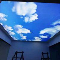 Fensteraufkleber Selbstklebende Film undurchsichtige Himmel Wolke Fleckglas Datenschutz Schlafzimmer Küche Balkon dekorativer Vinile
