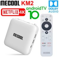 Mecool KM2 Smart TV Box Android 10 Google certificato TVBox 2GB 8GB Dolby BT4.2 2T2R Dual WiFi 4K Prime Video Player Player