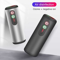 Purificatore d'aria USB auto con filtro HEPA Deodorante Veicolo a infrarossi Sensore per uso domestico Grigio