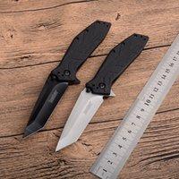 OEM Kershaw Brawler 1990 Tactical Pieghevole coltello 5CR13MOV G10 Maniglia Titanio Escursionismo Escursionismo Camping Caccia Caccia Survival Pocket Utility EDC Strumenti Autodifesa