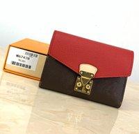 PJUNLG5568 Designer Women Leather Short Portafoglio Slim maschile Borses Soldi clip con carta di credito Dollaro Portafogli di lusso con scatola M67478