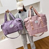 Duffel Bags Waterproof Sports Fitness Bag Adjustable Gym Yoga Big Travel Duffle Handbag For Women 2021 Weekend Traveling Bolsa Sac
