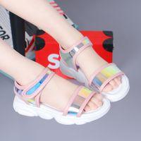 Girls' Sandals 2019 New Fashion Korean Summer Children's Baby Princess Shoes Soft Sole Little Girl