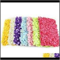 الزهور الزخرفية أكاليل diy خلفية محاكاة الكوبية زهرة الصف جدار رومانسية لحضور حفل زفاف الديكور 1 22x7b lg3jr