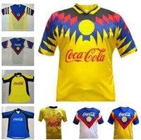 1993 1994 1995 1996 Liga MX Club America Retro Soccer Jersey 1987 1987 1988 2001 Camice da calcio in Messico League
