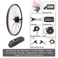 Hub de roue motrice EBIKE 48V 500W 1000W 1500W 36V 250W Electric E Electric E Conversion de vélo à vélo avec batterie