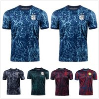 México 2021 Correspondência Treinamento Futebol Jerseys Argentina Germany Wear Football Shirts