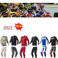 Ensembles de cross-coutumes de course de moto, costume de cyclisme extérieur, polyester rapide séchage, le même style personnalisé