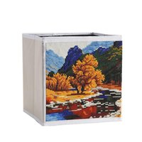 Storage Bags 5D DIY Diamond Painting Kit Box With Pen Tool Resin For Home Decorations Adult TB