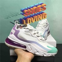 En Kaliteli Örgü 270 Reaksiyon Erkekler Kadınlar Spor Koşu Ayakkabıları Nefes Kaktüs Parkurları Eng Bauhaus 27c Mavi Erkek Yastık Spor Eğitmenleri Sneakers