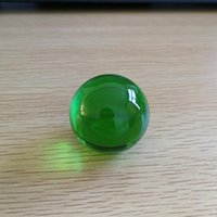 Novelty Items Sale Dark Green Crystal Ball 40 50 60 70 80mm Round Glass Without Base Healing Sphere For Home Wedding Decoration
