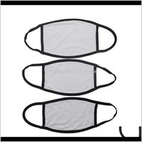 Designer Housekeeping Organization Home & Gardenblanks Sublimation Face Mask Adults Kids Masks Pm2Dot5 Gasket Dust Prevention For Diy Transf