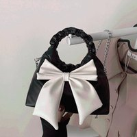 Totes Luxury Handbags Bow Women Messenger Bags Ladies Crossbody For Leather Shoulder Bag Female Hoboss Sac Bolsas