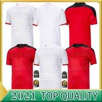 SOCCER2020 2021 Egipto Hogar de la casa Jersey de fútbol M. Salah 20 21 Kahraba A. Hegazi Ramadán M.Elneny Uniformes Jerseys Camisa de fútbol adulto