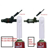 Manual Fuel Spray Nozzle Cleaning Tool Engine Care Injector Washing Device System Car Accessories Washer
