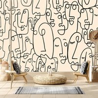 Wallpapers Abstract Figure Custom Po 3d For Living Room Bathroom Floor Wall Papers Home Decor Peel Stick Mural Roll Sticker