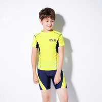 Men Swimwear Boys Students Clothes Spa Suits Sports Fashion Sandy Beach Surf Swimming Equipment Loose and Casual