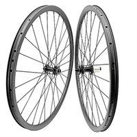 دراجة عجلات القرص mtb الكربون 27.5er 37x24 ملليمتر استبطان الفرامل مستقيم مستقيم 110x15 148x12 CN474
