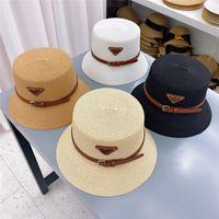 chapeau de paille dames chapeaux d'été hommes et femmes grandes capsules de cow-boys Sports de plein air Strawhat large bouchon
