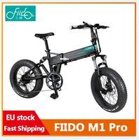 [EU-Lager, keine Steuer] Fiido M1 Pro Elektrische Fahrrad 20 Zoll Fettreifen 12.8ah 48 V 500 Watt Falten Moped Fahrrad 50km / h Höchstgeschwindigkeit 130km Meilenbereich