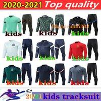 2021 национальная команда Франция Детский отдых Выжитие 20 21 Германия Италия Испания Аргентина Алжир Мальчики Футбольный тренировочный костюм Sportswear jogging