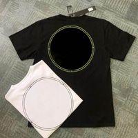 Uomo lettera modello t-shirt uomo hip-hop estate veloce secco tees moda casual top cool beachwear vestiti in abbigliamento stile sciolto nero bianco colori geometrici di alta qualità