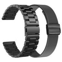 화웨이 시계 용 금속 스트랩 GT / GT2 46mm 명예 매직 2 스마트 밴드 팔찌 스마트 끈 TiCwatch Pro Wristband Correa 용