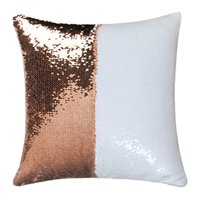 8 colorSequins Mermaid Pillow Case Cushion sublimation magic sequins blank pillow cases hot transfer printing DIY personalized gift ZZA6047