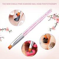 Nail Art Kits Fashion Flat Head Brush Potherapy Pen Rhinestone Handle Stud Picker