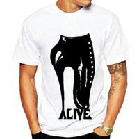 Men's T-Shirts BALLET STILETTO T Shirt Gothic Apparel Goth Graphic Tee Vintage Girl Style Adult