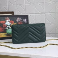 Mulheres cadeia crossbody saco listras flip messenger bolsa senhora de couro genuíno carteira coração padrão de alta qualidade cores múltiplas