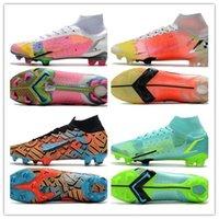 2021 мужские женские футбольные ботинки Mercurial Superfly 7 VII 360 Elite SE SG-PRO AC Daybreak CR7 Roalddo Neymar Футбольные ботинки Boots