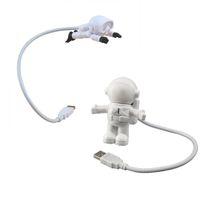 Creative Design Energy Saving Night Light Astronaut Spaceman USB LED Computer Laptop Notebook Lamp Mini Keyboard crestech