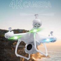 JH4 Дрон 4K Воздушная фотография Quadcopter Интеллектуальные дистанционные управления Самолеты RC Вертолет Годых подарок Kawaii