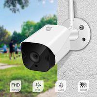 야외 방수 1080P 클라우드 와이파이 카메라 무선 양방향 오디오 폐쇄 회로 모니터링 보안 네트워크 IP 카메라