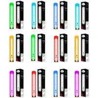e 금기 플래시 일회용 전자 담배 600mAh 3.5 ml 1000 퍼프 RGB 빛 빛나는 일회용 vape 펜 장치 포드 스타터 키트 12 색