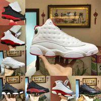 Air Jordan 13 Shoes retro jordans Nike VENTE 2021 Nouveaux Lakers 13 13s Nouveautés Chaussures de basketball Flint Atmosphère Gris Hyper Royal Définir