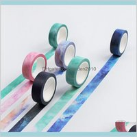 Adhesive Tapes & Stickers Office School Supplies Business Industrial Wholesale- 2016 Creative Dream Sky Japanese Decorative Tape Maski