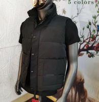 Даун Жилет Куртка Parkas Пальто Мужские Дизайнер Куртки Пальто Мужчины Женщины Классические Письмо Высокое Качество Зима Теплая Мода 5 Цветов Размер S- 2XL