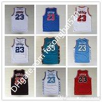 MENMEN 23 Basketball Jersey Red Mi Space Jam Looney toones Michaels Squad Team 96 98 Hemden Tunesquad Wurf Back College North Carolina