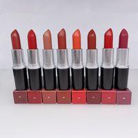 Matte Lipstick Color Box 3G Avec Naturel Imperméable Shimmer Satin Rouge à lèvres Maquillage Haute Qualité Creamée Creamy Creamsheen Stick-Stick Cosmétiques Grossistes