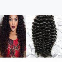 Human kinky curly braiding hair no weft human hair bulk for braiding 100g natural black hair