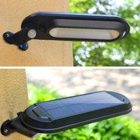 태양 램프 센서 라이트 야외 풍경 안뜰 정원 다기능 조명 LED 벽 램프 인체 유도 거리