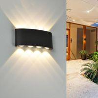 Simple Modern Indoor And Outdoor Bedroom Bedside Villa El Studio Dormitory Courtyard Wall Lamp Lamps