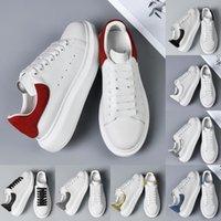 Damen Kleid Schuhe Top Hochwertiges Leder Weiß Rot Casual Sneakers Plattform Unterteile Designer Herren Slipper Outdoor Mode Damen Luxurys Turnschuhe
