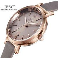 Orologi da uomo e orologi da donna di lusso Designer Brand Orologi Ibso Montre-Bracelet Ultra-Mince pour Femmes, Quarzo, De Luxe, La modalità, 8 mm,