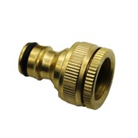 """Pure Brass Faucets Standard Connector Washing Machine Gun Quick Connect Fitting Pipe Connections 1 2 """"3 4"""" 16mm Hose Watering Equipments"""