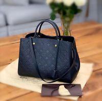 2021 Montaigne BB Handbags Mulheres Mulheres Sacos de Ombro Messenger Crossbody Bolsa Moda Designers Bandbag Tote Carteira
