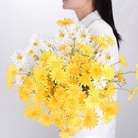 52cm faux chrysanthemum home décoration salon de salon artificiel fleur gastronomie décoration de la Saint-Valentin cadeau cadeau T500620